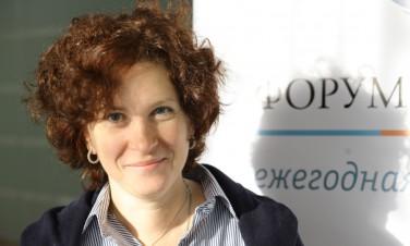 Наталья Каминарская, исполнительный секретарь Форума Доноров