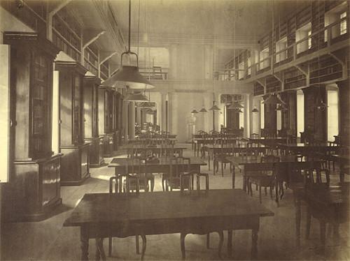 Читальный зал в доме Пашкова. 1880 г