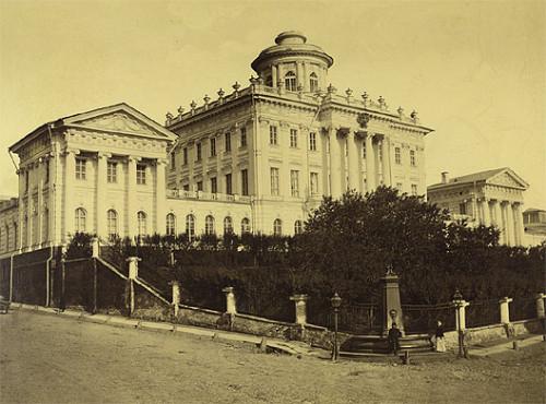 ДОМ ПАШКОВА 1880Г.