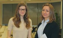 Екатерина Дмитриенко (справа)
