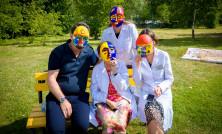 Добрые волшебники: врачи в масках, созданных маленькими пациентами. Побеждаем болезни вместе!