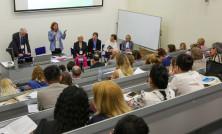 Meeting of social entrepreneurs, Graduade school of management, St. Petersburg, Russia