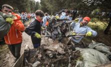 Волонтеры в пади Щегловка